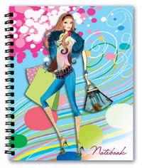 Записная книжка. нотебук, 4 дизайна, Феникс+ (канцтовары)