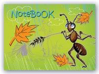 Записная книжка. notebook. муравей (на кольцах), Феникс+ (канцтовары)
