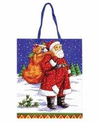 """Сумка для новогодних подарков """"дед мороз с мешком"""", Snowmen"""