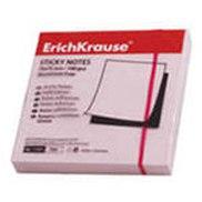 Бумага с клеевым краем 75х75 мм, розовая, ErichKrause