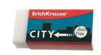 "Ластик белый ""city"", ErichKrause"