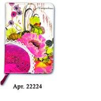 Ежедневник недатированный с кружевом. цветы-1, Феникс+ (канцтовары)