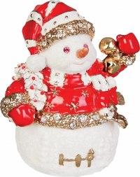 """Шкатулка """"снеговик"""", Mister Christmas"""