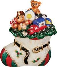 "Шкатулка ""сапожок"", Mister Christmas"