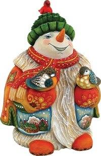 """Фигурка коллекционная """"снеговик"""", Mister Christmas"""