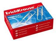 Скрепки омедненные, 28 мм, 100 штук, ErichKrause