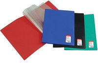 """Папка для документов """"standard"""", а4, с 20 прозрачными листами-карманами, красная, ErichKrause"""