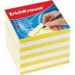 Блок для записей, 9х9х9, желтый, ErichKrause