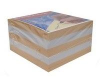 Блок для записей, 9х9х5, персиковый, ErichKrause