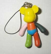 """Брелок """"мишка rainbow"""", CreativeStudio"""