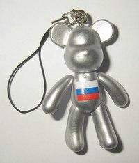 "Брелок ""мишка russia"", CreativeStudio"