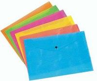"Папка-конверт ""neon"", а4, на кнопке, ErichKrause"
