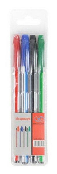 Набор цветных шариковых ручек, 4 штуки, Miraculous