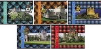 """Альбом для рисования """"шотландка с замками"""", 40 листов, Hatber"""