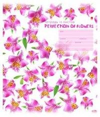"""Тетрадь школьная """"цветы. патерн"""", 18 листов, клетка, Альт"""