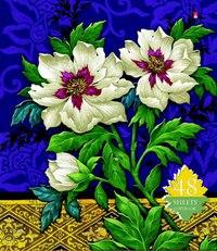 """Тетрадь """"цветы. декор"""", 48 листов, клетка, Альт"""