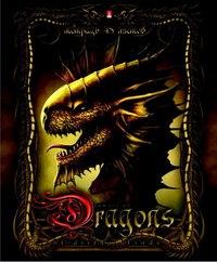 """Тетрадь """"драконы фэнтези"""", 48 листов, клетка, Альт"""