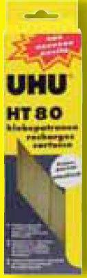 Клеевые патроны для пистолета hot мelt ht 210, нт 80, UHU