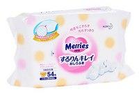 """Детские влажные салфетки """"merries"""", запасной блок, Merries (Мериес, Мерис)"""