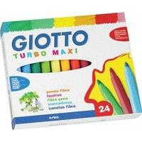 Набор утолщенных фломастеров (24 цвета), FILA-GIOTTO