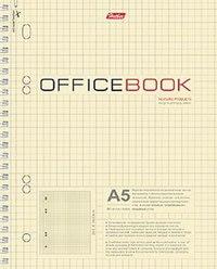 """Тетрадь общая а5 """"office book"""", 80 листов, клетка, Hatber"""