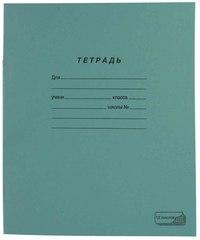 Тетрадь. новый стандарт, 12 листов, крупная клетка, ПЗБф