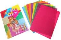Набор цветной бумаги, а4, 10 цветов, 20 листов, ПВС-Груп
