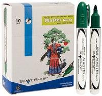 """Маркер для белой доски """"master board"""", зеленый, Silwerhof"""