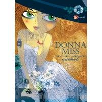 """Книга для записей """"девушка в белом (donna miss)"""", а6, Канц-Эксмо (Listoff, Unnika Land)"""