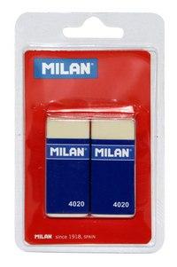 Набор ластиков с держателем, 2 штуки, Milan