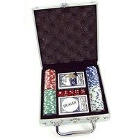 Набор для игры в покер (100 фишек), China Bluesky Trading Co