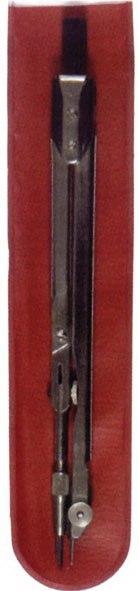 Циркуль металлический, 155 мм, в чехле, Глобус