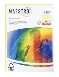 """Бумага для ксерокопирования """"maestro color pale"""" а4, желтый, Mondi Business Paper"""