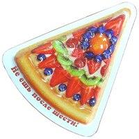 """Магнит """"пицца с фруктами"""", Эврика"""