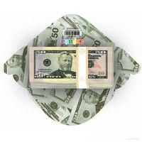 """Конверт для денег """"50$"""", 10 штук, Эврика"""