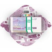 """Конверт для денег """"500 евро"""", 10 штук, Эврика"""