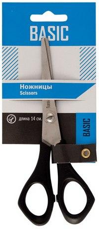 """Ножницы """"basic"""", 14 см, с пластиковой ручкой, Silwerhof"""
