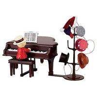 "Композиция ""медведь за роялем"", Mister Christmas"