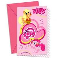 """Приглашения в конвертах """"моя маленькая пони"""", Procos S.A."""