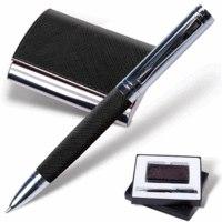 """Набор """"prestige collection"""", черный: ручка, визитница, Galant"""