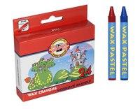 Восковые мелки, 24 цвета, Koh-I-Noor