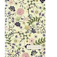 """Тетрадь общая а6 """"цветы. изящный орнамент"""", 80 листов, спираль, Канц-Эксмо (Listoff, Unnika Land)"""