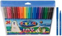 """Фломастеры """"carioca joy"""", 24 цвета, Universal"""