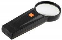 Лупа с подсветкой (увеличение: 4 кратное; диаметр линзы: 65 мм), Stayer