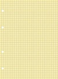 Сменный блок для тетради на кольцах, а5, 80 листов, желтый, ErichKrause