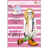 "Книга для записей ""стиль и мода. fashion girl"", а6, Канц-Эксмо (Listoff, Unnika Land)"