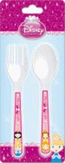 """Набор столовый для малышей """"принцессы"""" (ложка и вилка), Disney (Дисней)"""