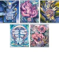 """Тетрадь """"волшебные цветы"""" а5, клетка, 48 листов, Канц-Эксмо (Listoff, Unnika Land)"""