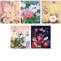 """Тетрадь """"цветы"""" а5, клетка, 96 листов, Канц-Эксмо (Listoff, Unnika Land)"""