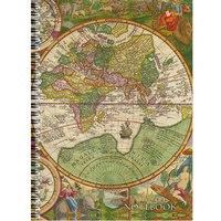 """Тетрадь """"офисный стиль. старинная карта"""", 96 листов, клетка, а4, Канц-Эксмо (Listoff, Unnika Land)"""